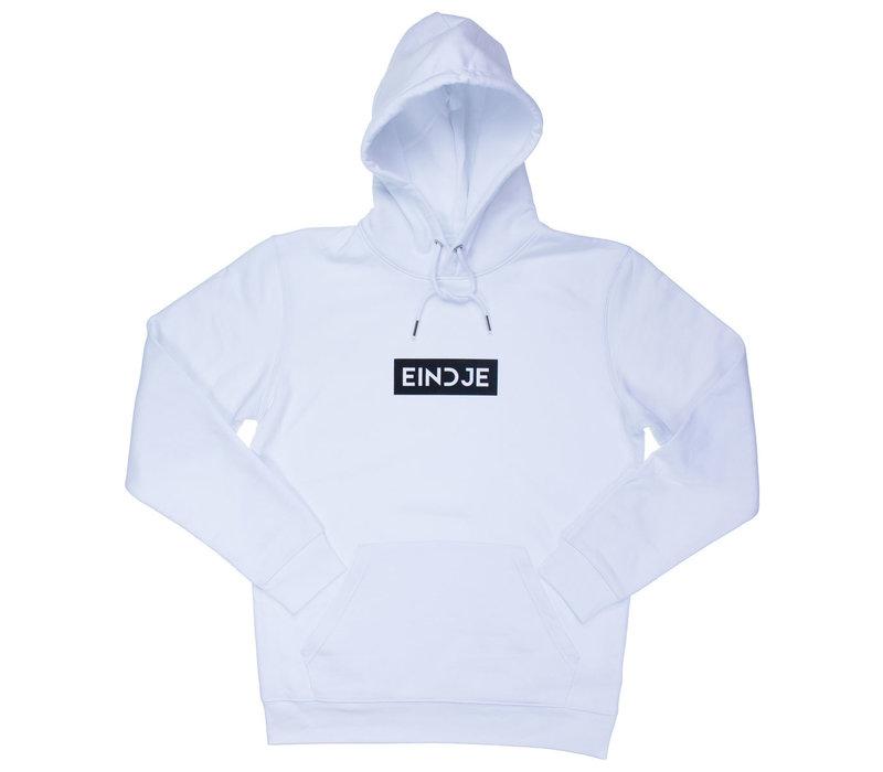 Eindje HD Block Logo Hoodie | Wit