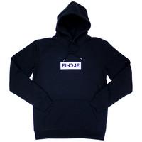 Eindje HD Block Logo Hoodie | Zwart