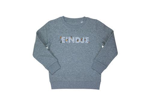 Eindje Eindje Kids Playing Sweater Heather Grey