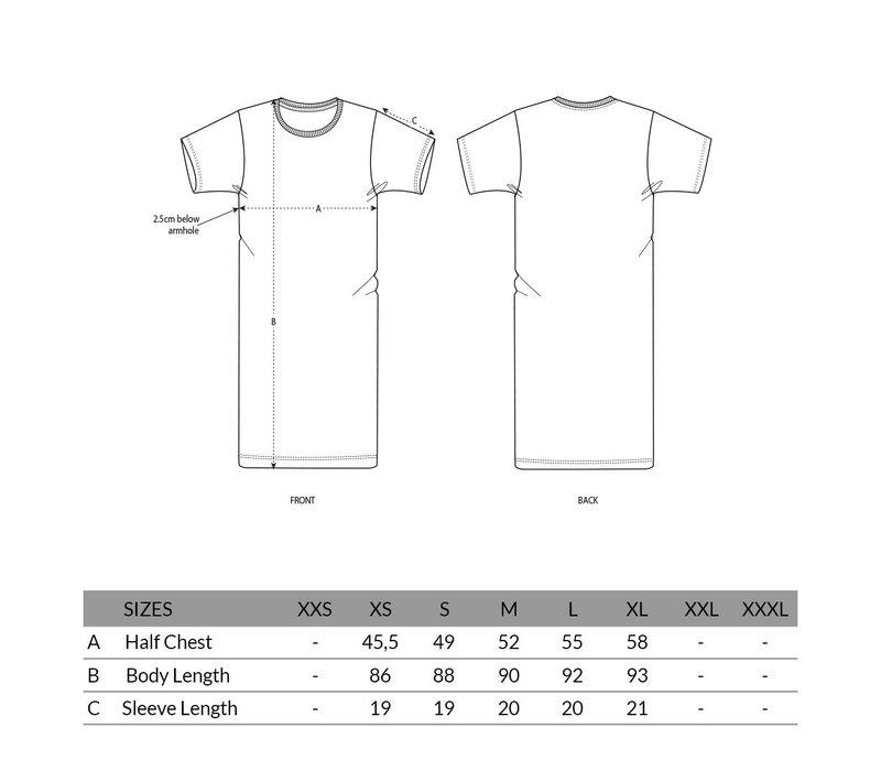Eindje Dames T-shirt Jurkje