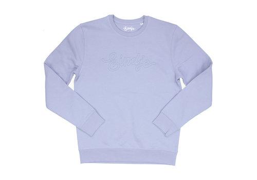 Eindje Eindje Logo Sweater Stitched Serene Blue