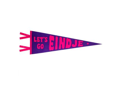 Loose Pennant Let's Go Eindje Vintage Pennant Purple / Fuchsia