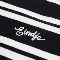 Eindje Classic Stripe T-shirt Zwart / Wit