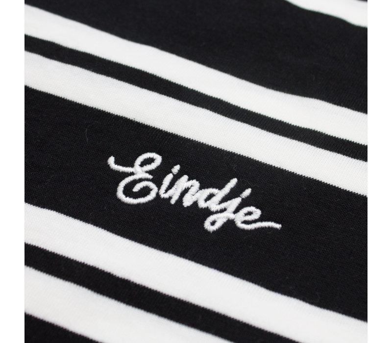 Eindje Classic Stripe T-shirt Black /  White