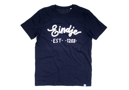 Eindje Eindje T-shirt  Zwart | Wit