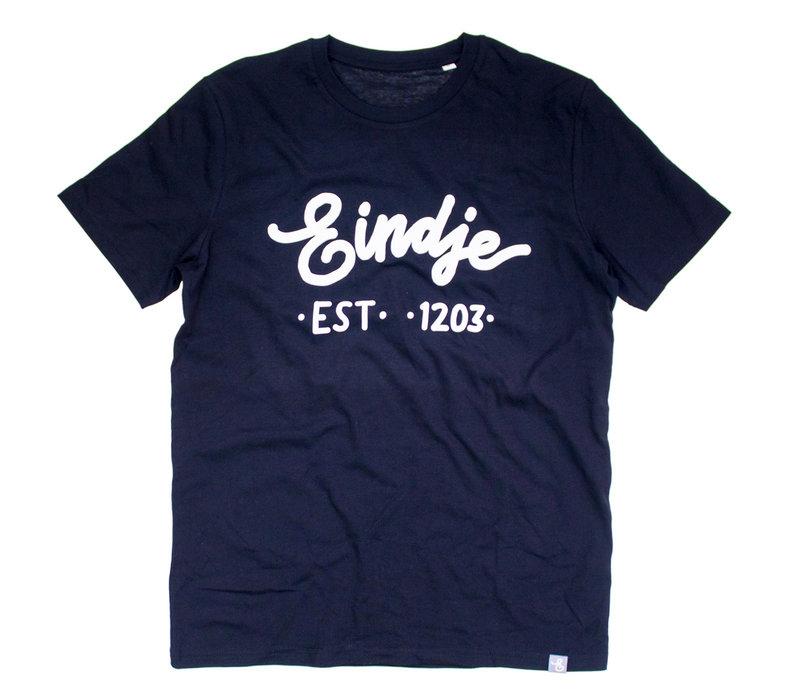 Eindje T-shirt  Zwart | Wit