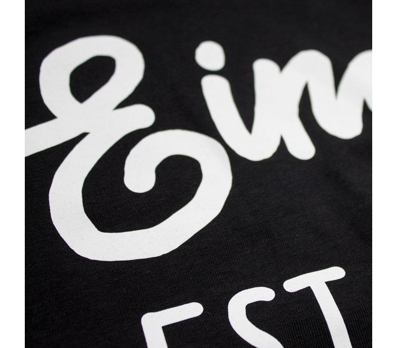 Eindje T-shirt  Black   White