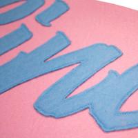 Eindje Vintage Pennant Baby Blauw / Roze