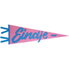 Eindje Eindje Vintage Pennant Baby Blauw / Roze