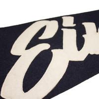 Eindje Vintage Pennant Navy Blauw / Wit