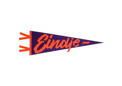 Eindje Eindje Vintage Pennant Purple  /  Orange