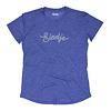 Eindje Eindje Sport Performance Women T-shirt Blue Melange