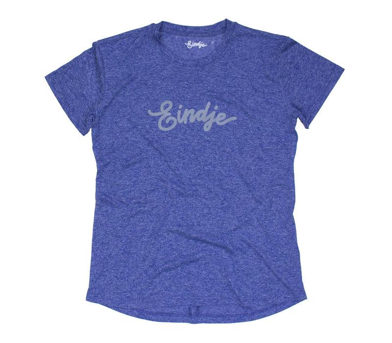 Eindje Sport Performance Women T-shirt Blue Melange