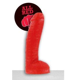 All Black All Red Dildo - ABR 34