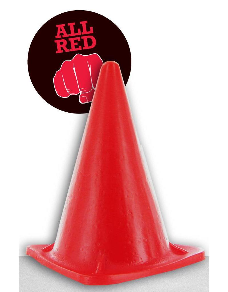 All Black All Red Dildo - ABR 35