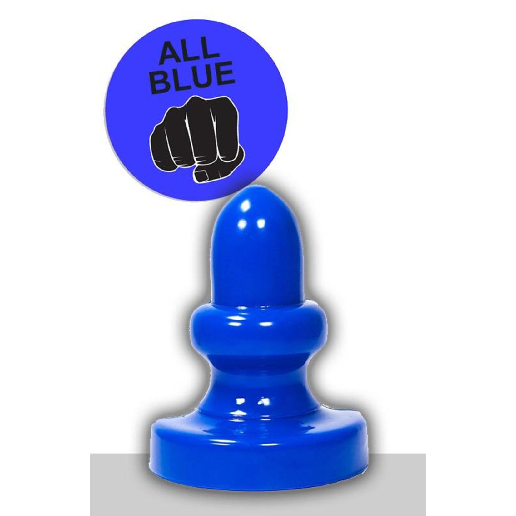 All Black All Blue Dildo - ABB 52