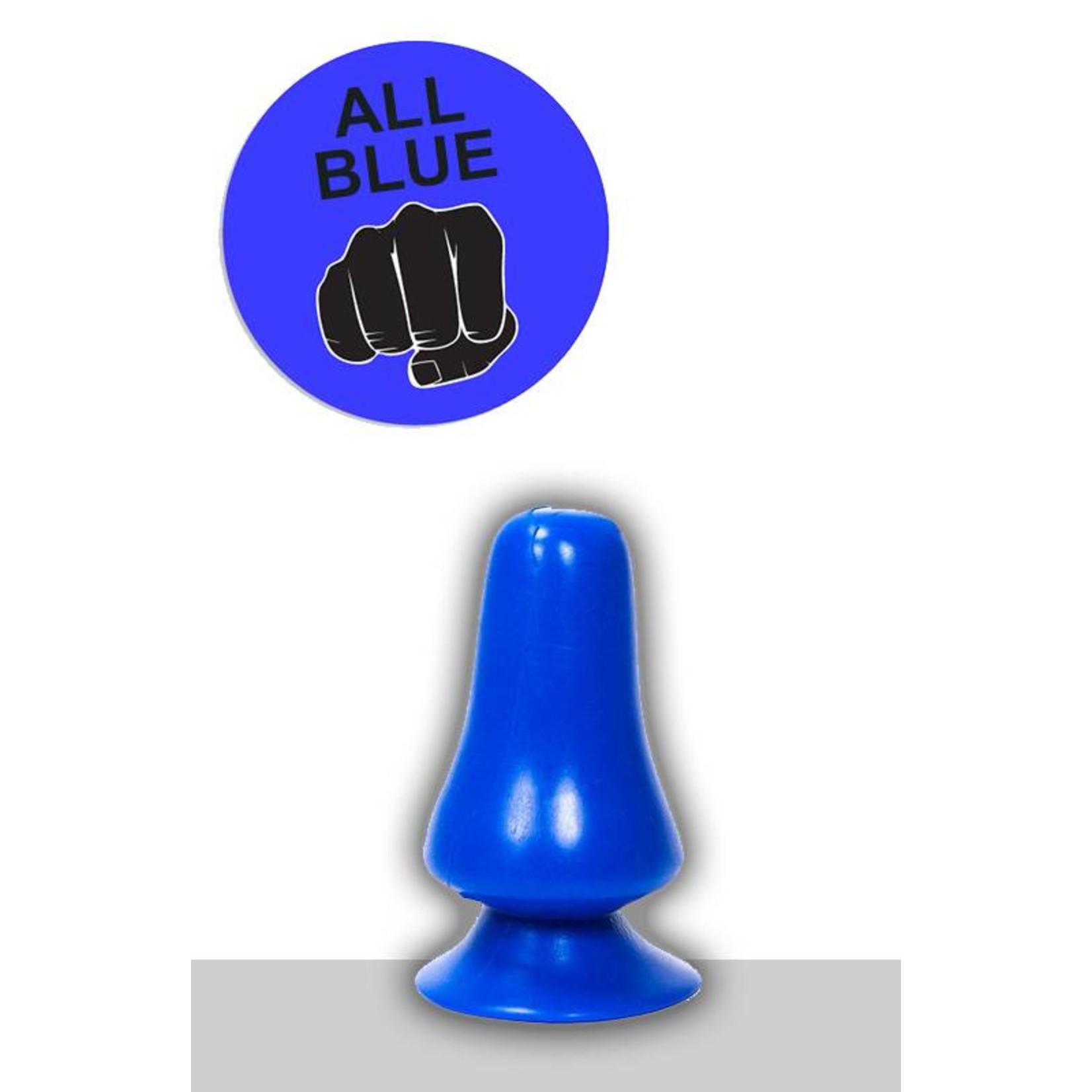 All Black All Blue Dildo - ABB 39