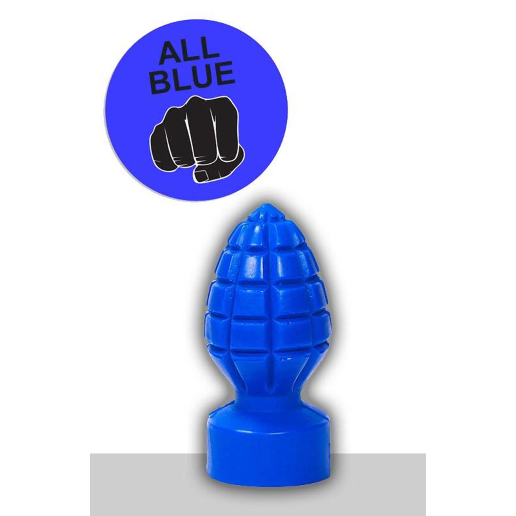 All Black All Blue Dildo - ABB 33