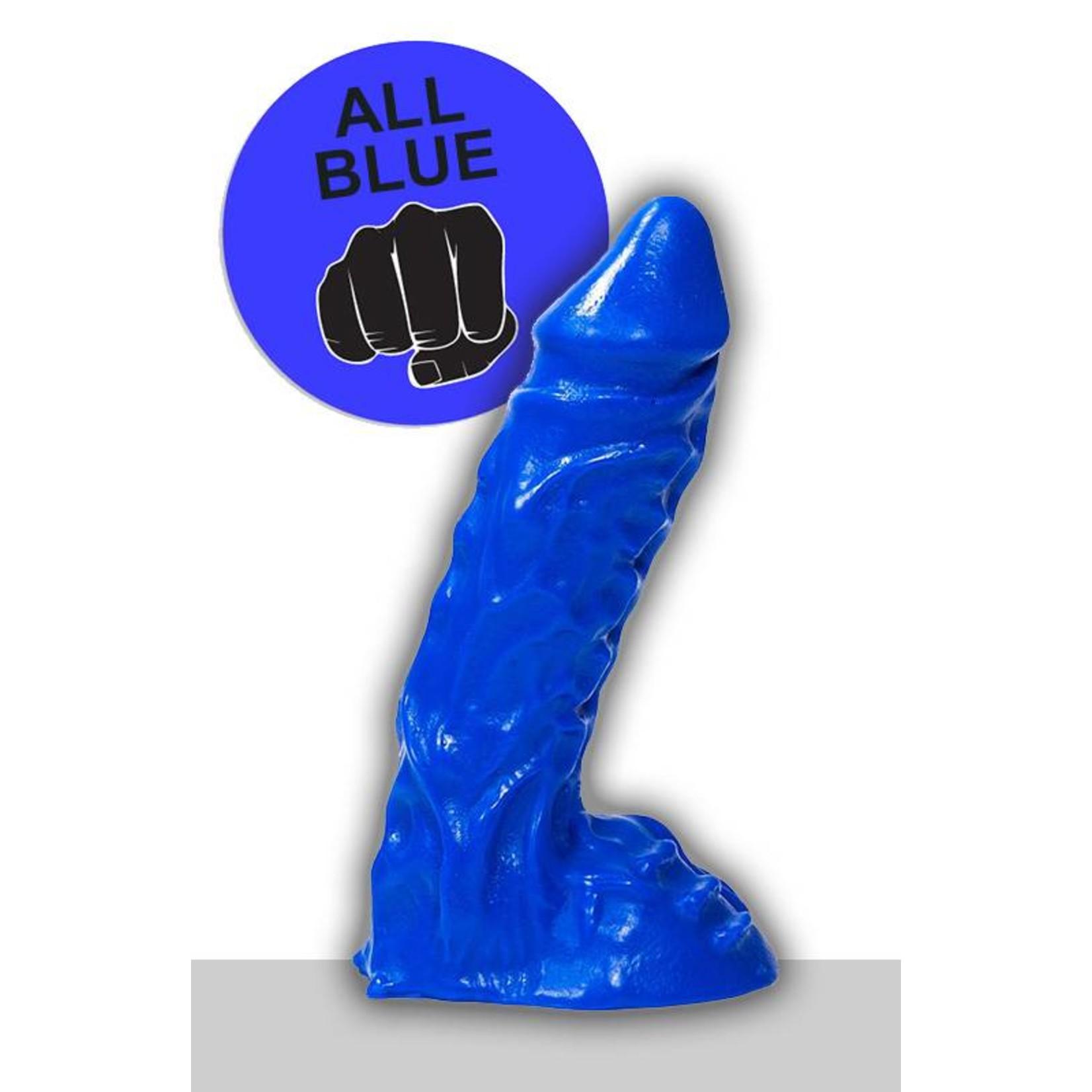 All Black All Blue Dildo - ABB 27