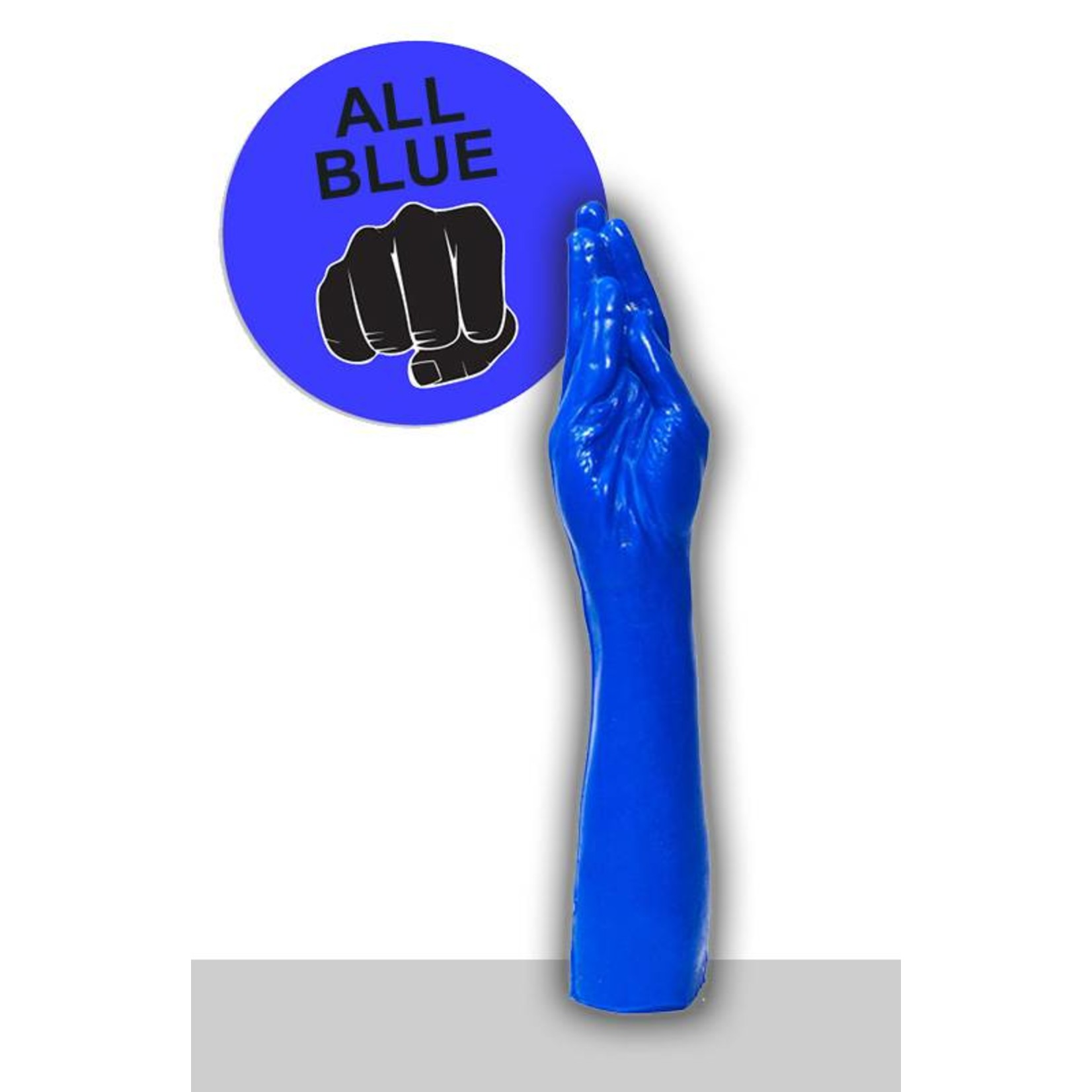 All Black All Blue Dildo - ABB 21