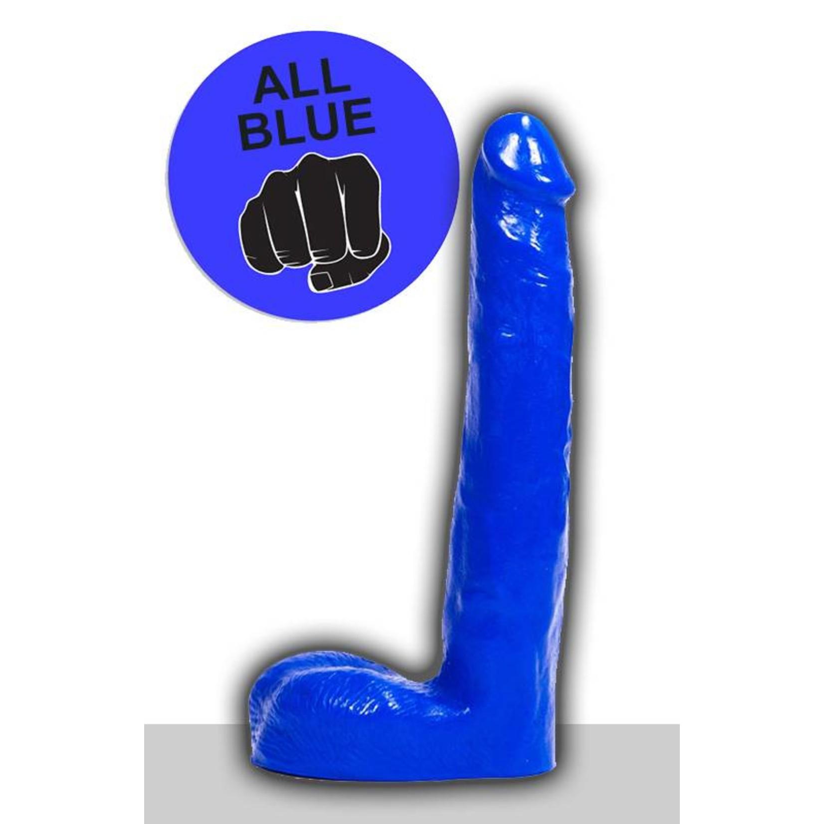 All Black All Blue Dildo - ABB 04