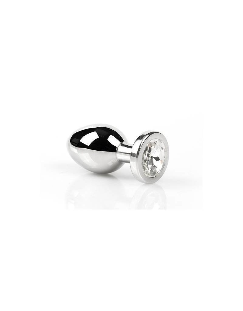 KIOTOS Bizarre Kiotos Bizarre - Buttplug with Diamond - Small Clear