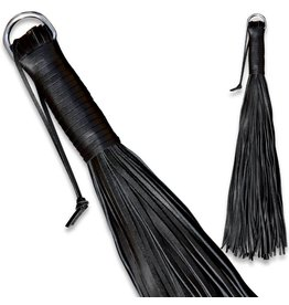 KIOTOS Leather Leather Whip black