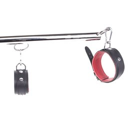 KIOTOS Steel Spreader Bar set - Red Leather