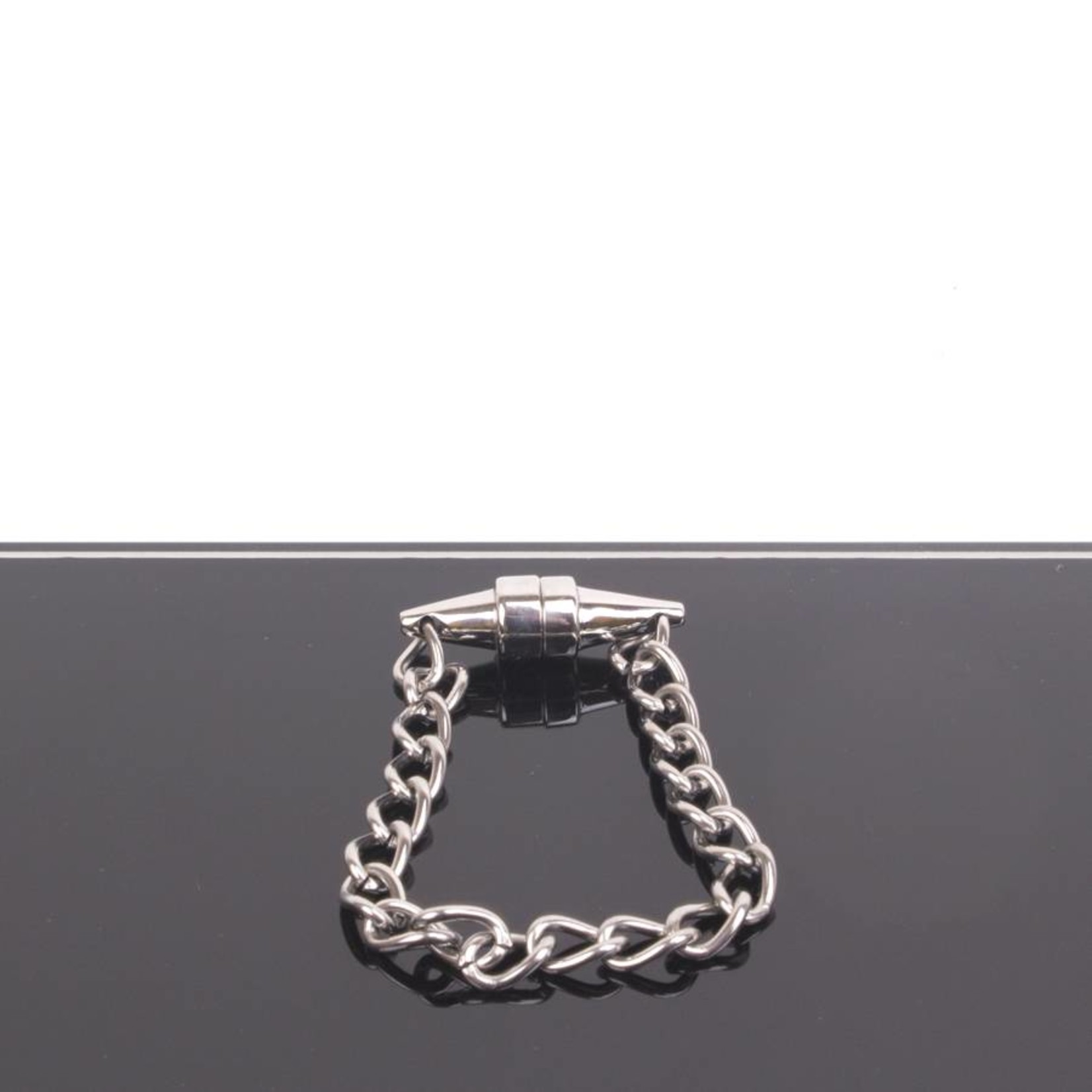 KIOTOS Steel Magnetic Nipple Pinchers with polished chain