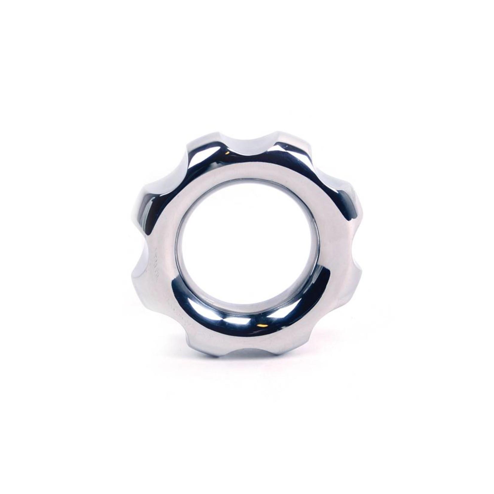 KIOTOS Steel Cog Cock Ring - 40mm