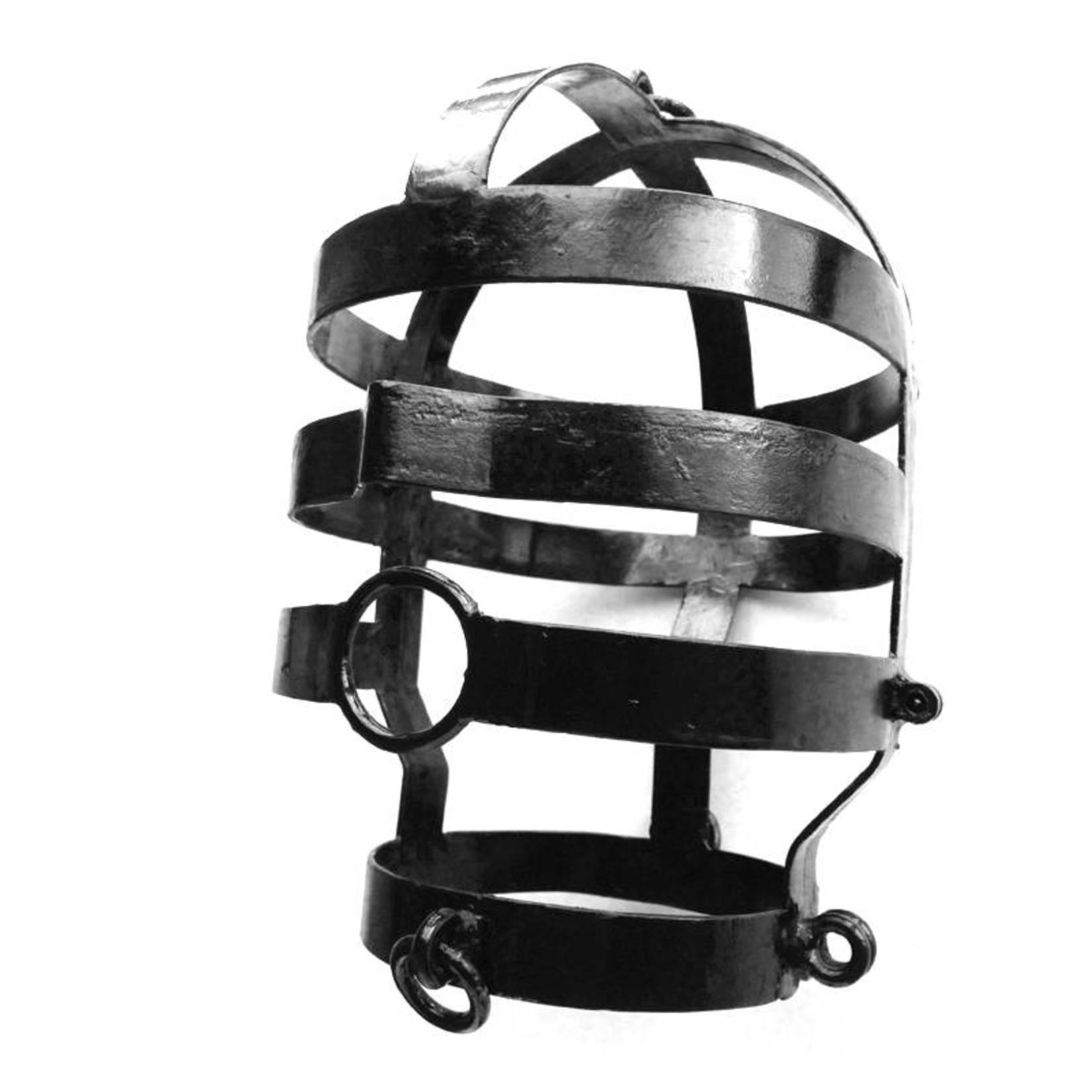 KIOTOS Steel Head Cage, Large, Black Coated