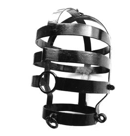 KIOTOS Steel Head Cage, Large, Black Coated