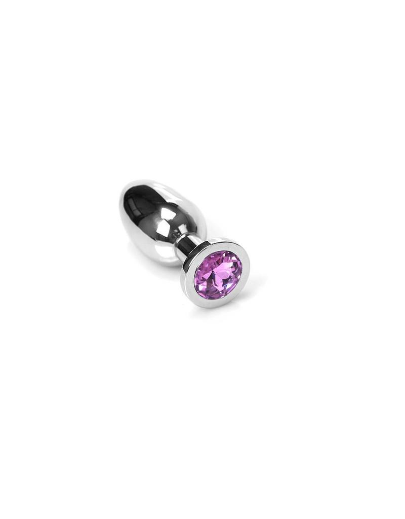 KIOTOS Steel Jewel Buttplug - Medium Pink