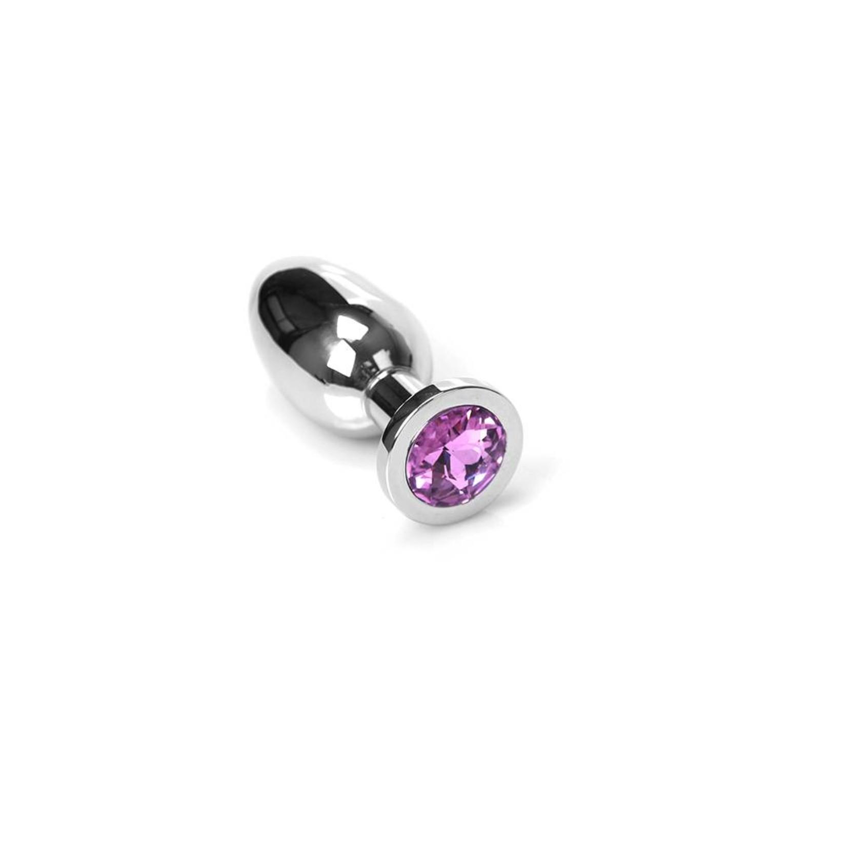 KIOTOS Steel Jewel Buttplug - Small Pink