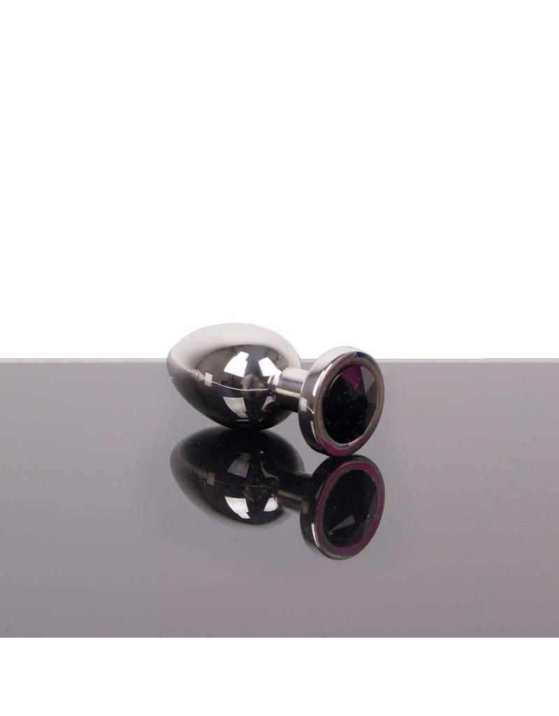 KIOTOS Steel Jewel Buttplug - Large Black