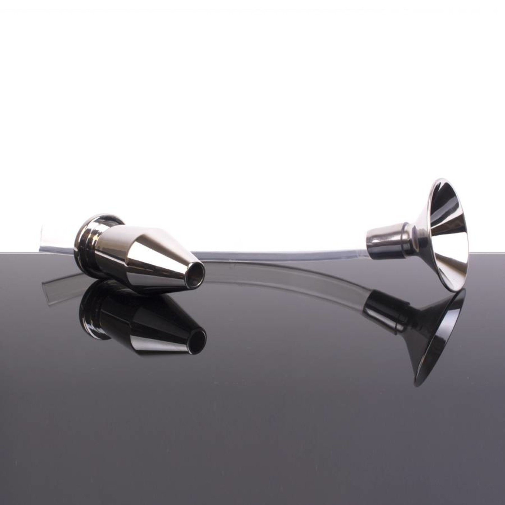 KIOTOS Steel Ass Funnel with Hollow Plug Large