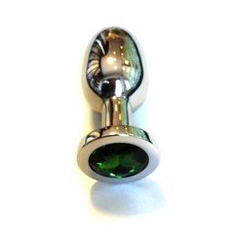 KIOTOS Steel Jewel Buttplug Large Green