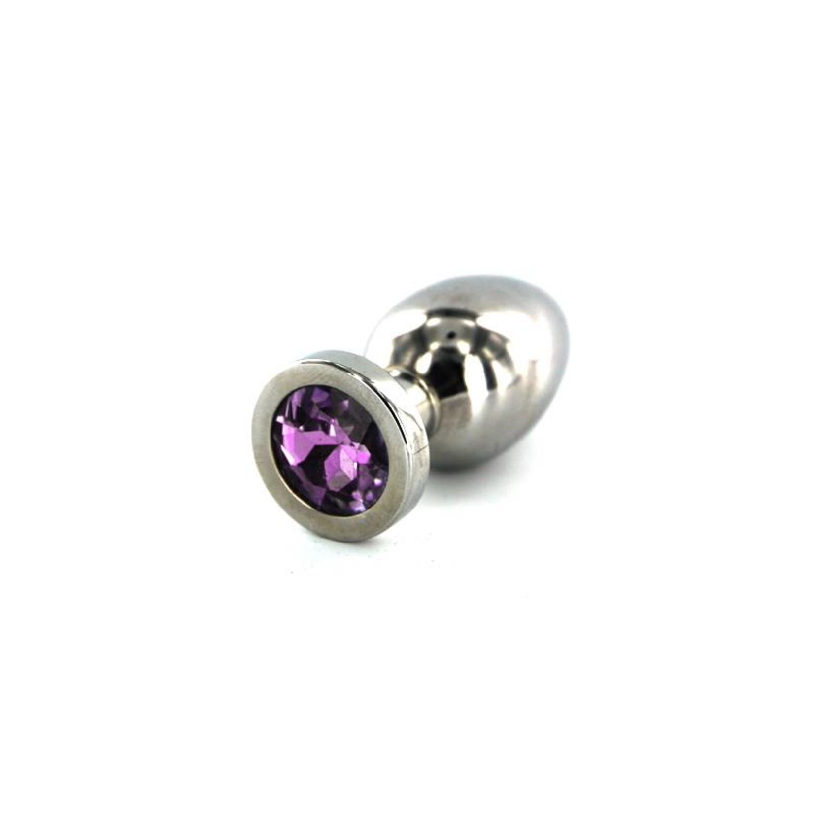 KIOTOS Steel Jewel Buttplug - Medium Purple