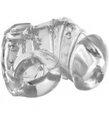 Master Series Detained 2.0 Restrictive Chasity Cage With Nubs