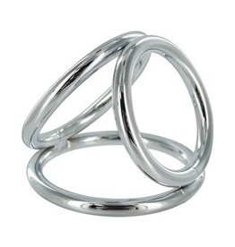 Master Series Triad Chamber Cock and Ball Ring-m