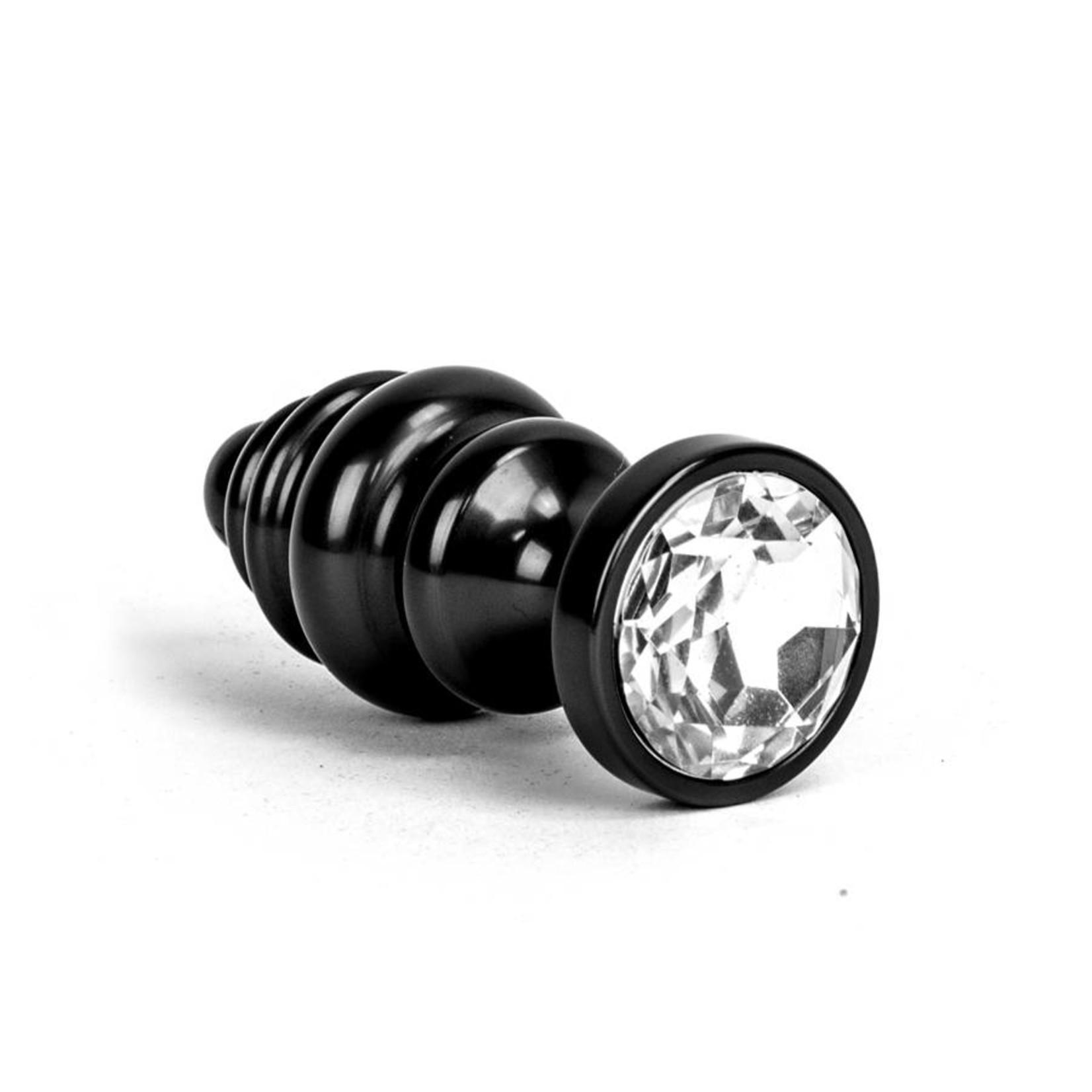 KIOTOS Aluminum Alloy Anal Plug 1 - Black