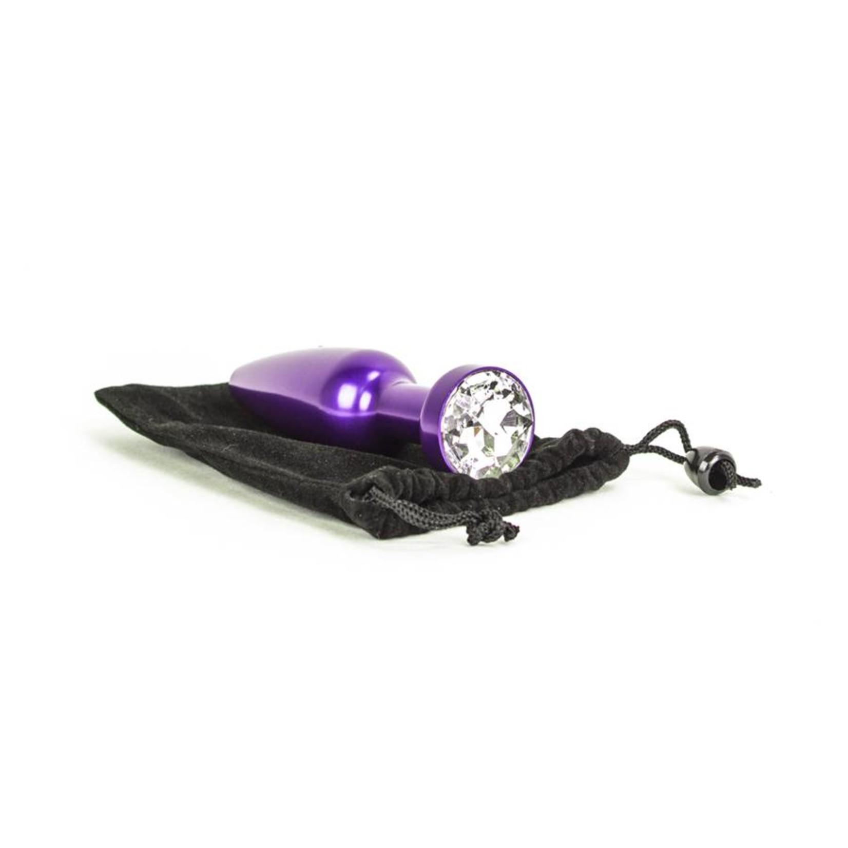 KIOTOS Aluminum Alloy Anal Plug 2 - Purple