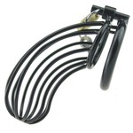 Perfect Lover Chastity cage Black 2