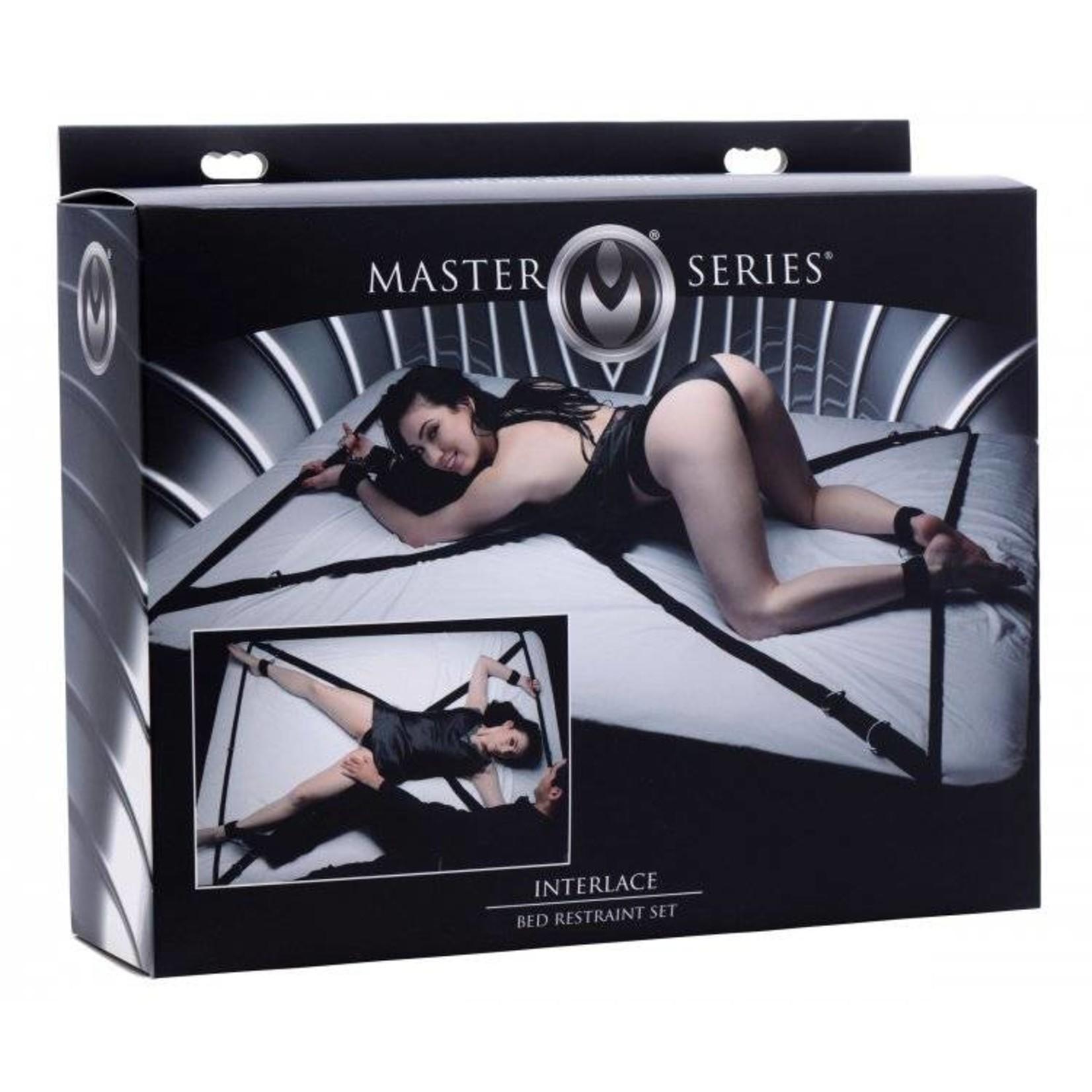 Master Series Interlace Bed Restraint Set