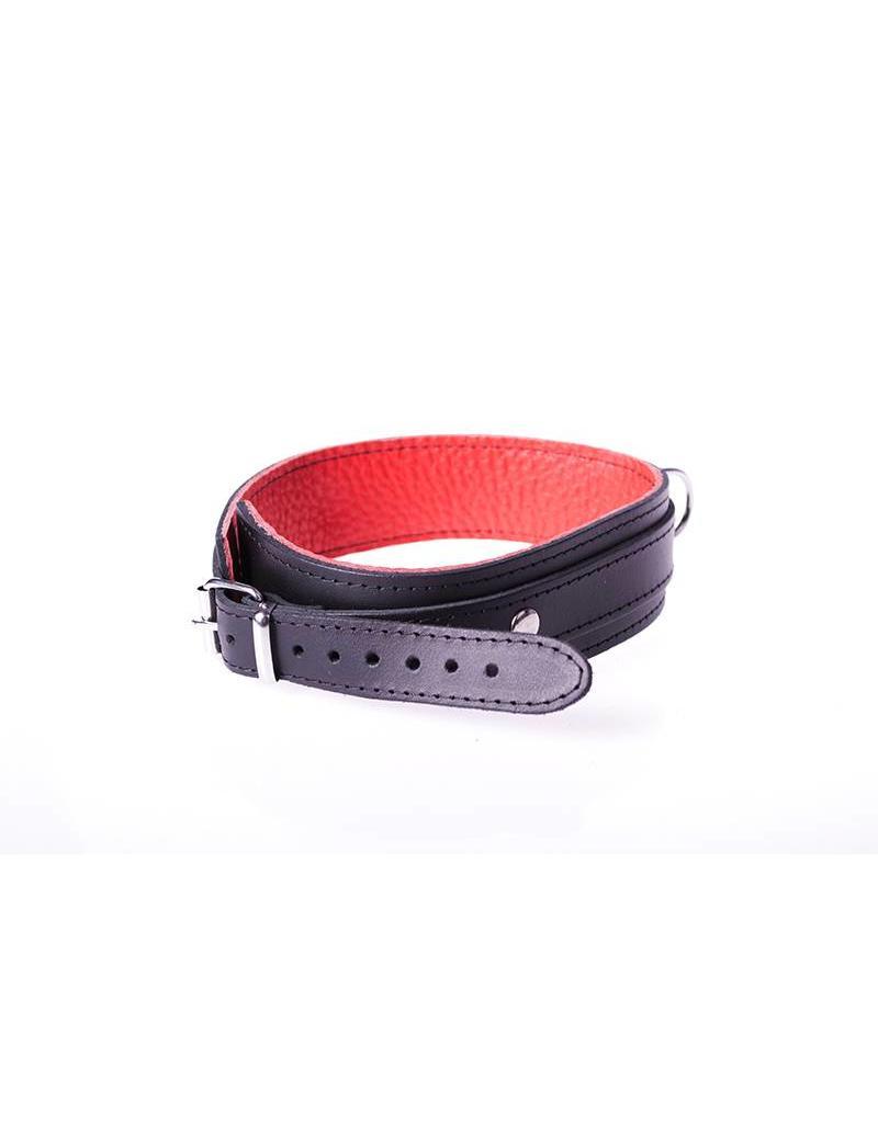 KIOTOS Leather Collar Basic - Red