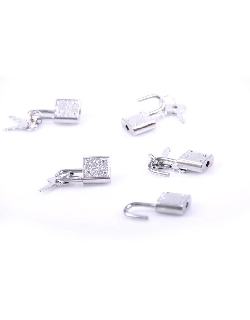 KIOTOS 5 Padlocks with Keys