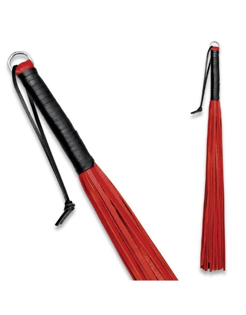 KIOTOS Leather Leather Whip Red 24 straps