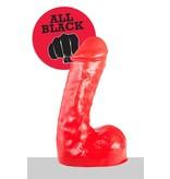 All Black All Red Dildo - ABR 65