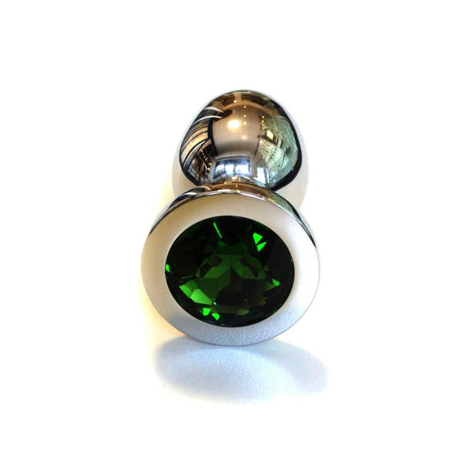 KIOTOS Steel Jewel Buttplug Large Green
