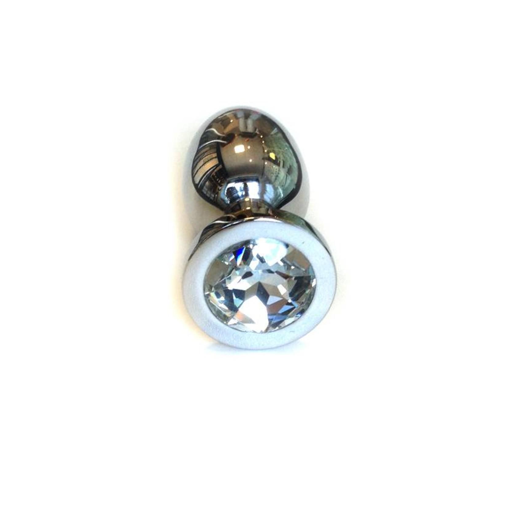 KIOTOS Steel Jewel Buttplug Large Clear